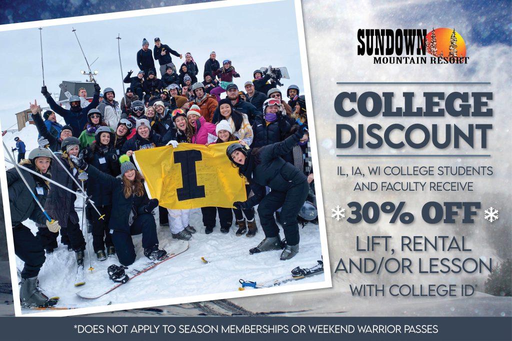 College Discount Sundown Mountain