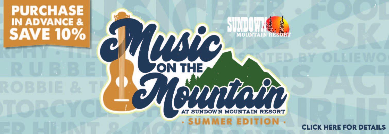 Music On The Mountain at Sundown Mountain Resort