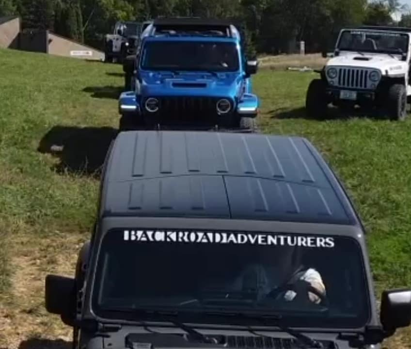 Jeeps On The Mountain